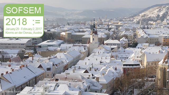 Konferenzauftakt für 2018: SOFSEM in Krems