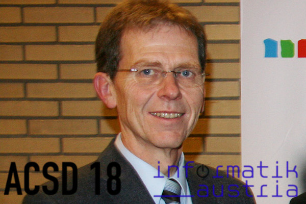 Hanspeter Mössenböck am ACSD 2018