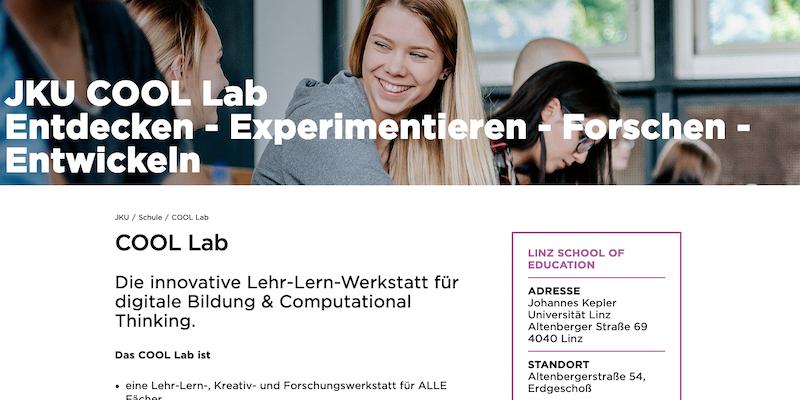JKU Linz: Cool Lab