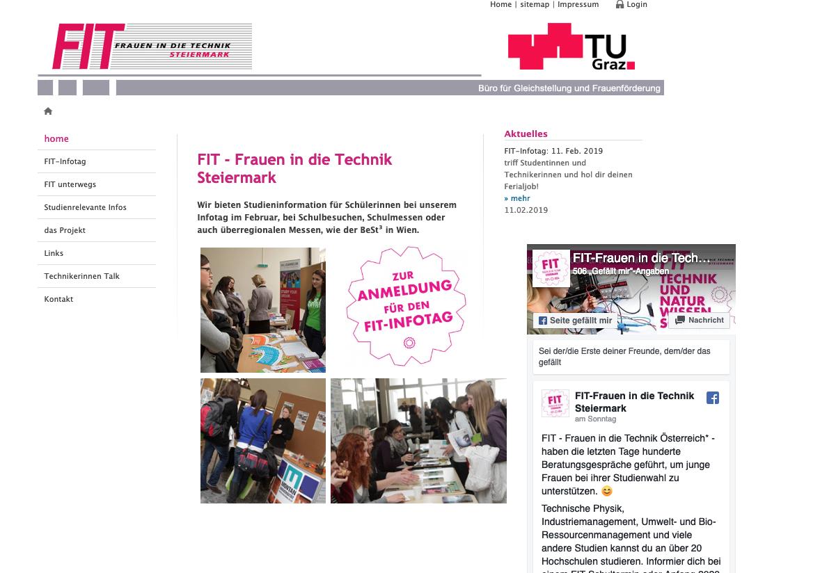 TU Graz: FIT Frauen in die Technik