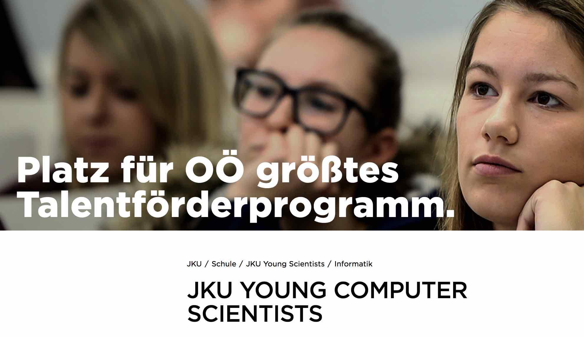 JKU Linz: Young Computer Scientists