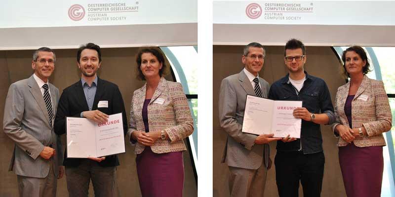 Förderpreise beim Austrian Computer Science Day