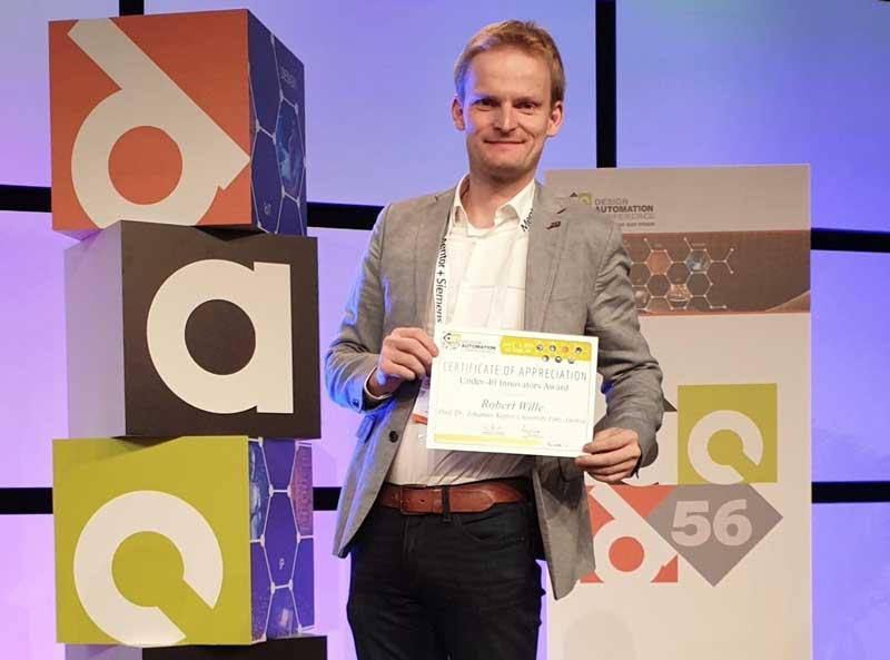 Design Automation: Auszeichnung für Robert Wille